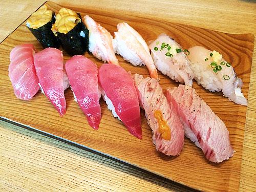 「雛鮨」西銀座店