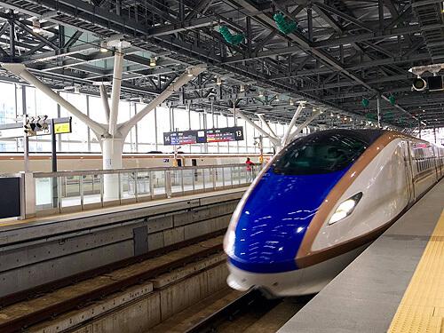 北陸新幹線「はくたか」