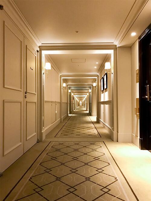 東京ステーションホテル 廊下