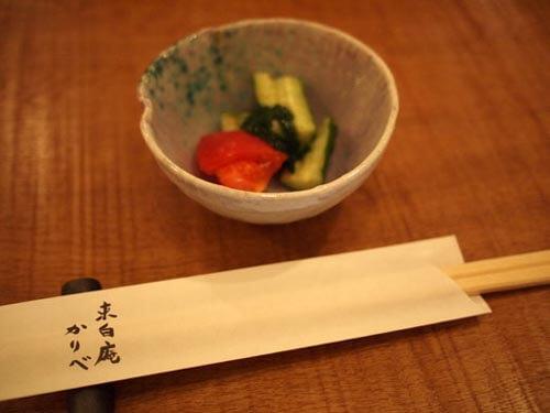神楽坂 手打ち蕎麦 東白庵かりべ