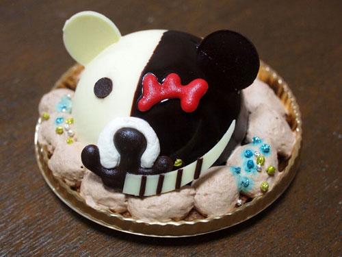 モノクマケーキ