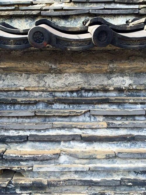 観音寺の築地壁