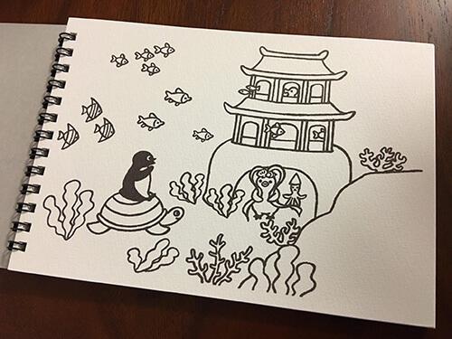 Suicaのペンギンスケッチブック