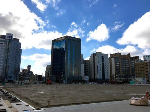 富山駅南口駅前広場