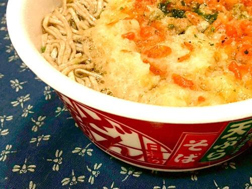 どん兵衛の天ぷら蕎麦