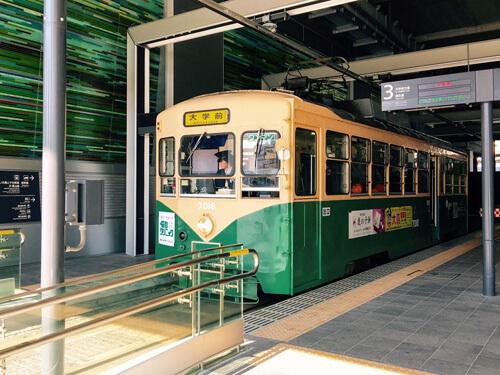 富山を走る路面電車