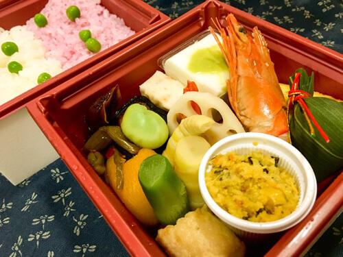 越中料理「五万石 千里山荘」のお弁当