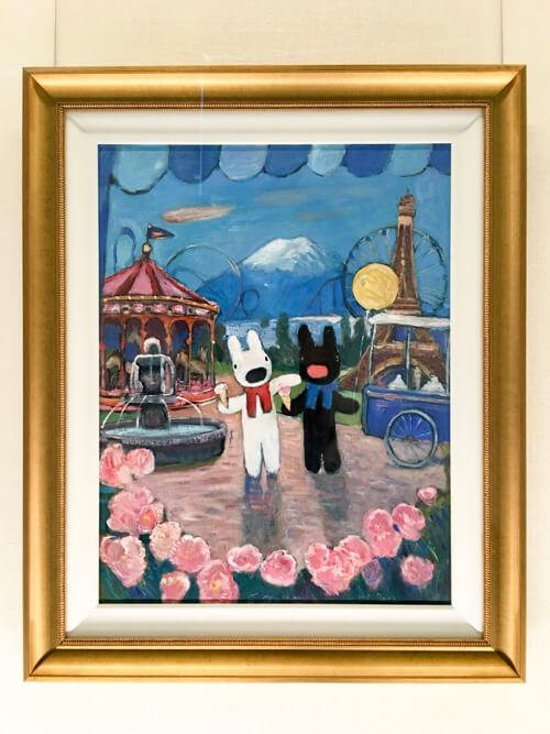 リサとガスパールの貴重な原画