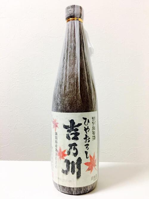 特別純米酒 吉乃川 ひやおろし