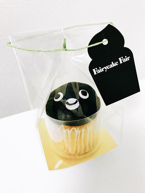 グランスタ東京×Suica15周年記念 Suicaペンギンの限定カップケーキ
