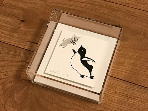 坂崎千春展 ペンギン百態 II