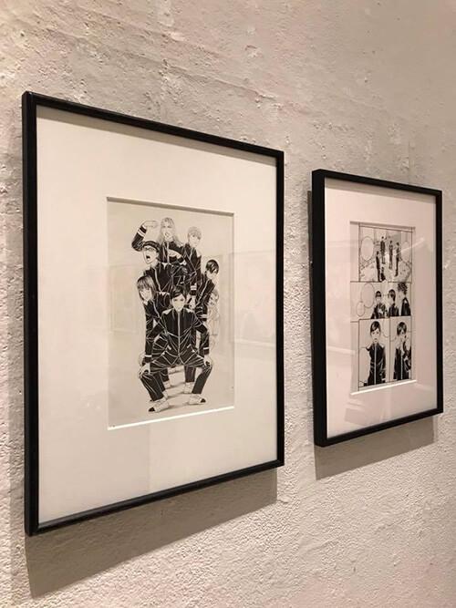 古屋兎丸「帝一の國」原画展