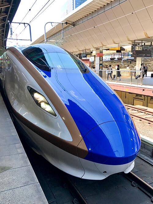 北陸新幹線「かがやき」509号