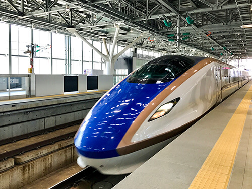 北陸新幹線「はくたか」566号