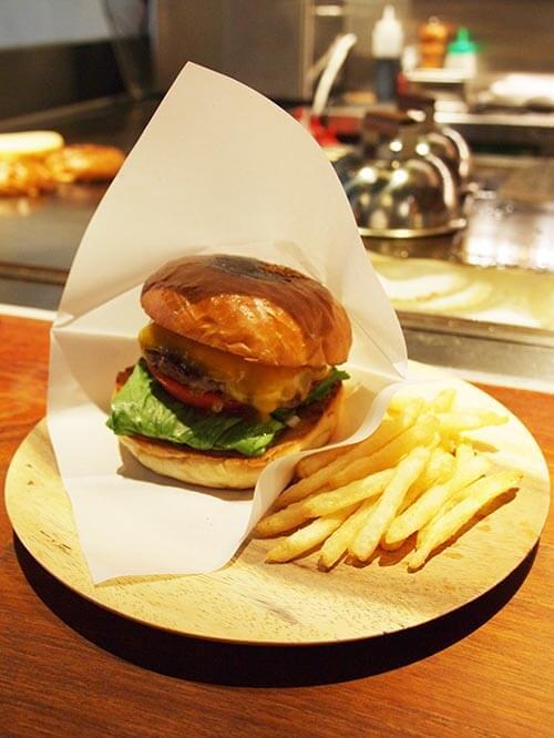 Lantern burger