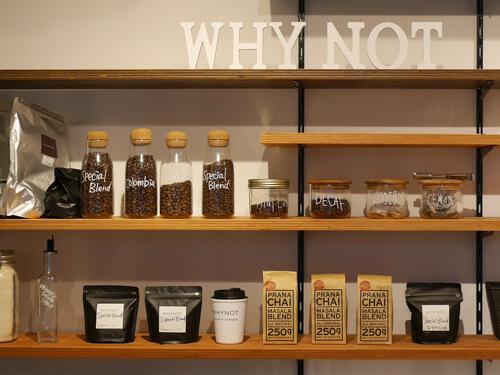 WHY NOT Specialty Coffee&(ワイノットスペシャルティコーヒーアンド)