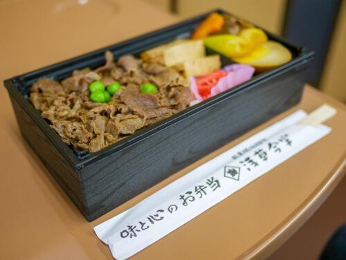 浅草今半のすき焼き弁当