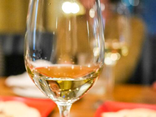 銀座でワイン。