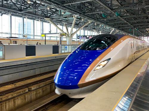 北陸新幹線「はくたか」568号